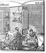 Steam Washer, 1872 Acrylic Print