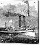 Steamboat, 1850 Acrylic Print