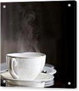 Steaming Acrylic Print
