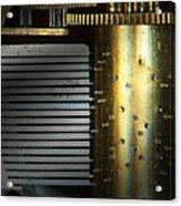 Steampunk - Gears - Music Machine Acrylic Print