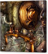 Steampunk - Naval - Shut The Valve  Acrylic Print