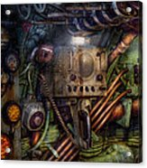 Steampunk - Naval - The Comm Station Acrylic Print