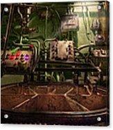 Steampunk - Naval - This Is Where I Do My Job Acrylic Print
