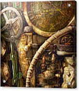 Steampunk - Naval - Watch The Depth Acrylic Print