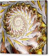 Steampunk - Spiral - Time Iris Acrylic Print