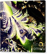 Steampunk Abstract Fractal . S2 Acrylic Print
