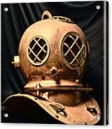 Steampunk - Diving - Diving Helmet Acrylic Print