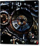 Steampunk Personal Decompression Chamber Model 39875da78803 Fully Accessorized Acrylic Print