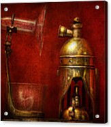 Steampunk - The Torch Acrylic Print