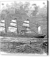 Steamship: Republic Acrylic Print