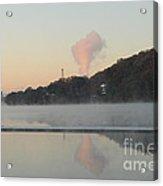 Steamy Morning Acrylic Print