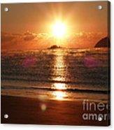 Steamy Sunrise Acrylic Print