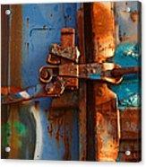 Steel Blues Acrylic Print