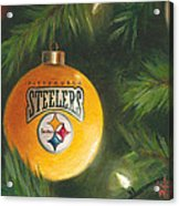 Steelers Ornament Acrylic Print