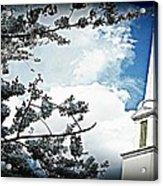 Steeple In The Sky  Acrylic Print