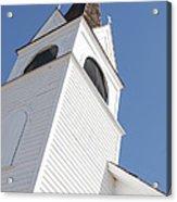 Steeple On St. Joseph's Catholic Mission Church Acrylic Print