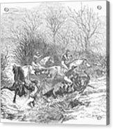 Steeplechase, 1847 Acrylic Print