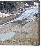 Stein Glacier, Switzerland Acrylic Print by Dr Juerg Alean