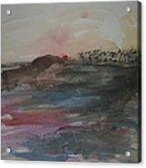 Stenson Beach At Sunset Acrylic Print
