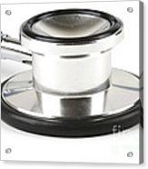 Stethoscopes Diaphragm Acrylic Print by Photo Researchers, Inc.