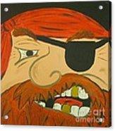 Steve The Pirate Acrylic Print