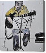 Steve's Guitar Acrylic Print