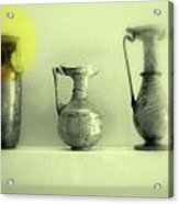 Still Life - Roman Pitchers Acrylic Print