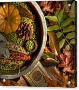 Still Life In Autumn Acrylic Print