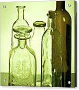 Still Life Of Bottles  Acrylic Print