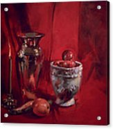 Still Life With Apples Acrylic Print