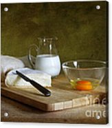 Still Life With Egg Acrylic Print