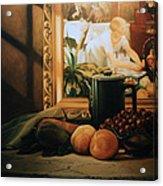 Still Life With Hopper Acrylic Print