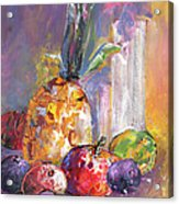 Still Life With Pineapple Acrylic Print