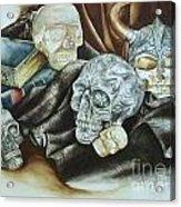 Still Life With Skulls Acrylic Print