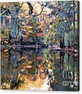 Still Waters - Autumn Reflections Acrylic Print