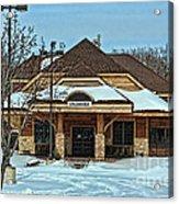 Stillwater Mn Depot Acrylic Print