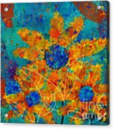 Stimuli Floral -s01t01 Acrylic Print