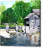 Stockdale Apple Cider and Grist Mills Acrylic Print