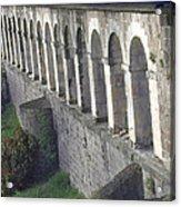 Stone Arches And Shadows Acrylic Print