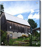 Stone Cottage Barn Acrylic Print