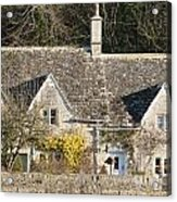 Stone Cottages Acrylic Print