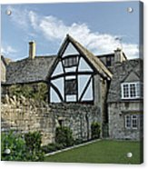 Stone Cottages In Broadway - Gloucestershire Acrylic Print