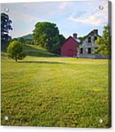 Stone Farmhouse In Vermont Acrylic Print