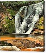 Stone Mountain Window Falls Acrylic Print