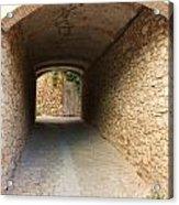 Stoned Tunnel Acrylic Print