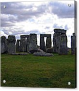 Stonehenge - Overcast Acrylic Print