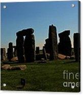 Stonehenge England Acrylic Print