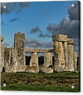 Stonehenge Acrylic Print by Heather Applegate