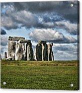Stonehenge Landscape Acrylic Print