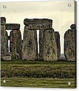Stonehenge Monument Acrylic Print